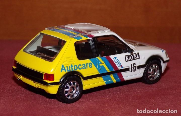 Coches a escala: PEUGEOT 205 GTI Rally Gales 1991 burns-Reid ESCALA 1:43 DE MONDOMOTOR EN CAJA no original - Foto 3 - 69481237