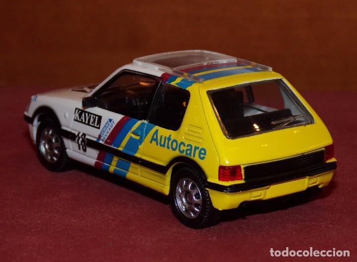 Coches a escala: PEUGEOT 205 GTI Rally Gales 1991 burns-Reid ESCALA 1:43 DE MONDOMOTOR EN CAJA no original - Foto 5 - 69481237
