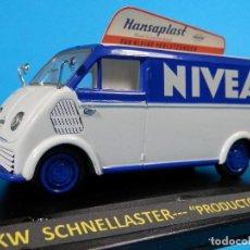 Coches a escala: DKW SCHNELLASTER PRODUCTOS NIVEA DE SCHUCO --LUGOY. Lote 69779725