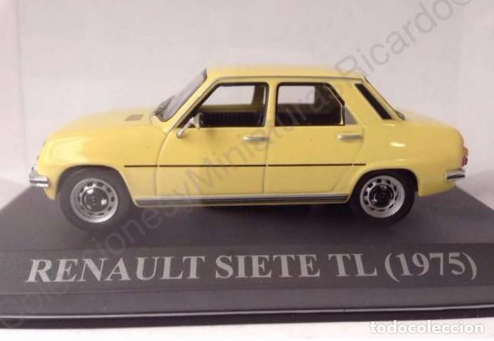 Coches a escala: Renault 7 TL 1975 - coche clásico de calle 1:43 siete - Ixo (Altaya) - Foto 3 - 70068453
