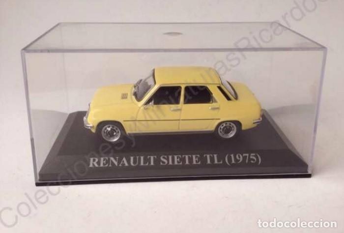 Coches a escala: Renault 7 TL 1975 - coche clásico de calle 1:43 siete - Ixo (Altaya) - Foto 5 - 70068453
