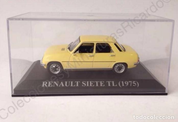 Coches a escala: Renault 7 TL 1975 - coche clásico de calle 1:43 siete - Ixo (Altaya) - Foto 6 - 70068453