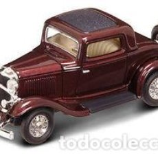 Coches a escala: FORD 1932 A ESCALA 1:34 1932 FORD 3 WINDOW COUPE. Lote 70328605