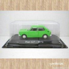 Coches a escala: COCHE FIAT 127 VERDE 1/43 1:43 METAL CAR SEAT MINIATURA. Lote 70334599