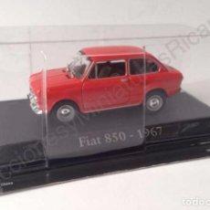 Coches a escala: FIAT 850 (1967) - COCHE CLÁSICO DE CALLE 1:43 - IXO (ALTAYA). Lote 70358613
