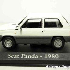 Coches a escala: SEAT PANDA 1980 1/43 (VITRINA) IXO - RBA - CLÁSICOS INOLVIDABLES COCHE METAL MINIATURA. Lote 70366995