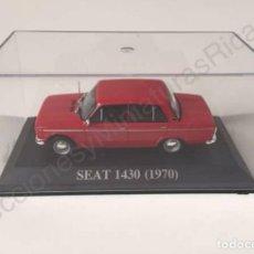 Coches a escala: SEAT 1430 ROJO (1970) - COCHE DE CALLE A ESCALA 1:43 - IXO (ALTAYA) NUEVO EN VITRINA.. Lote 128767468