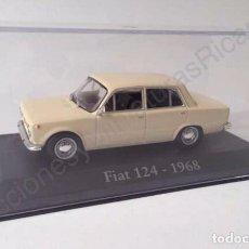 Coches a escala: FIAT 124 (1968) - COCHE DE CALLE 1:43 - IXO (ALTAYA). Lote 70923293