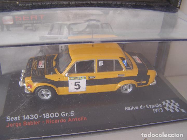 SEAT 1430 GRUPO 5, JORGE BABLER, COLECCIÓN SEAT SPORT, ALTAYA (Juguetes - Coches a Escala 1:43 Otras Marcas)