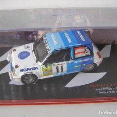 Coches a escala: RENAULT 5 GT TURBO DEL RALLY DE SAN FROILAN DE 1988 , CAMPEONES ESPAÑOLES, ALTAYA.. Lote 114063154