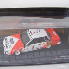 Coches a escala: NISSAN 240 RS DEL RALLY SAFARI DEL 84, COLECCION RALLY DE ITALIA, EAGLE MOSS ALTAYA. Lote 104688264