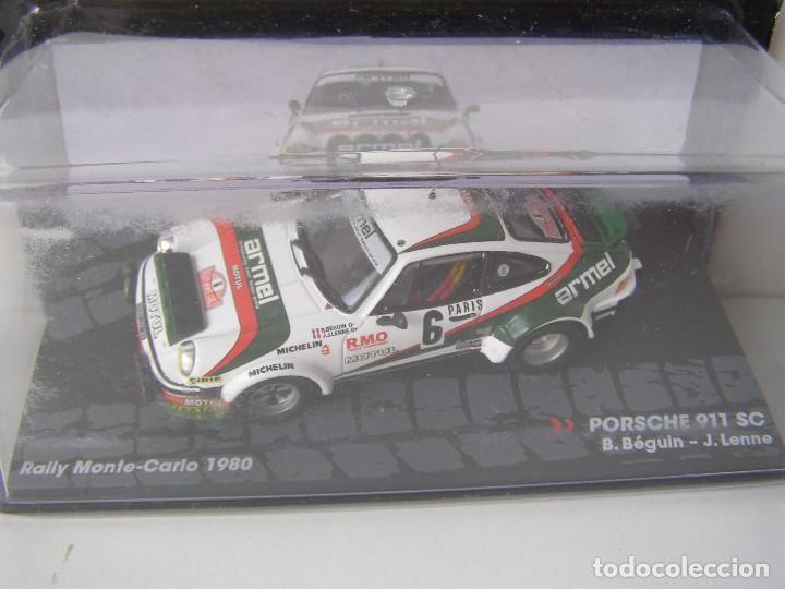 PORSCHE 911 SC, RALLY MONTE CARLO 1980, COLECCION DE ITALIA, EAGLE MOSS ALTAYA, 1/43 (Juguetes - Coches a Escala 1:43 Otras Marcas)