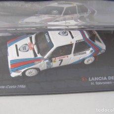 Coches a escala: LANCIA DELTA S4, RALLY MONTE CARLO 1986, COLECCION DE ITALIA, EAGLE MOSS ALTAYA, 1/43. Lote 153647258