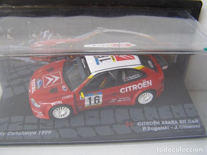 Coches a escala: CITROEN XSARA KIT CAR, RALLY DE CATALUNYA DEL 99, COLECCION DE ITALIA, EAGLE MOSS ALTAYA, 1/43 - Foto 1 - 138758102