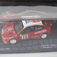 Coches a escala: CITROEN XSARA KIT CAR, RALLY DE CATALUNYA DEL 99, COLECCION DE ITALIA, EAGLE MOSS ALTAYA, 1/43. Lote 138758102