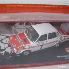 Model Cars - RENAULT 12 GORDINI DE 1973 DE RAGNOTTI, COLECCION RALLY DE MONTECARLO, ALTAYA 1/43. - 98944100