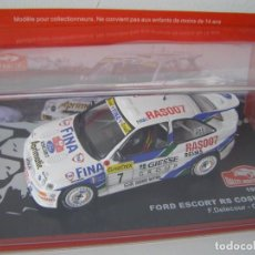 Coches a escala: FORD ESCORT RS COSWORTH DE 1995, COLECCION RALLY DE MONTECARLO, ALTAYA 1/43.. Lote 109331072