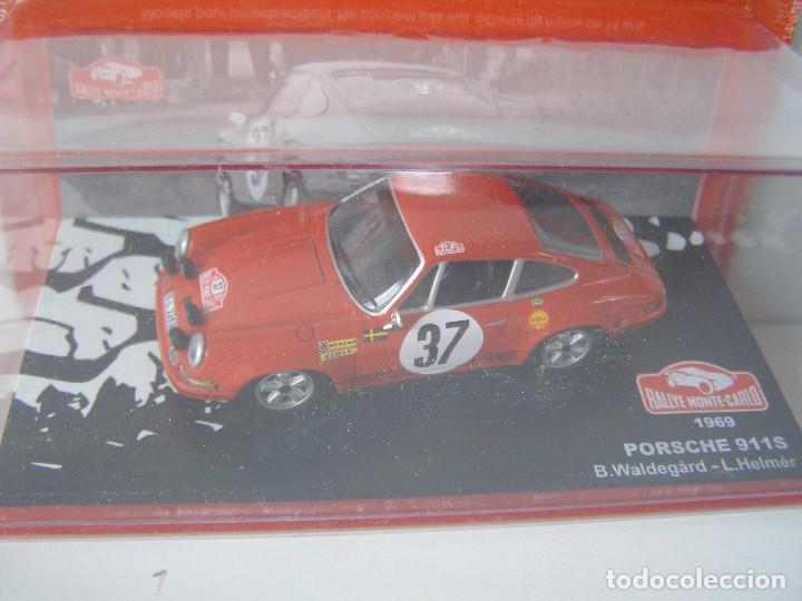 PORSCHE 911 S DE 1969, COLECCION RALLY DE MONTECARLO, ALTAYA 1/43. (Juguetes - Coches a Escala 1:43 Otras Marcas)