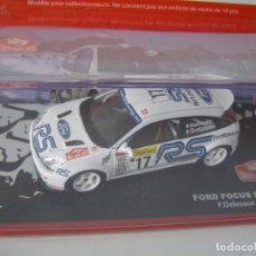 Coches a escala: FORD FOCUS RS WRC01 DE 2001, COLECCION RALLY DE MONTECARLO, ALTAYA 1/43.. Lote 71175629