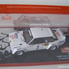 Model Cars - FIAT 131 ABARTH DE 1977, COLECCION RALLY DE MONTECARLO, ALTAYA 1/43. - 83626676