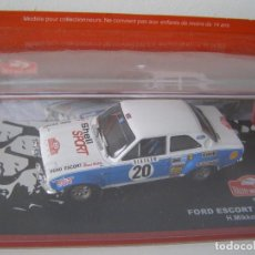 Model Cars - FORD ESCORT 1600 1973, COLECCION RALLY DE MONTECARLO, ALTAYA 1/43. - 144707682