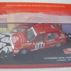Model Cars - CITROEN VISA 1000 PISTES DE 1987, COLECCION RALLY DE MONTECARLO, ALTAYA 1/43. - 71176353