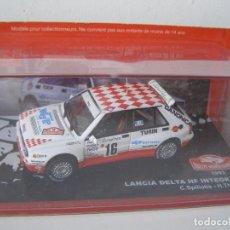 Model Cars - LANCIA DELTA HF INTEGRALE DE 1993, COLECCION RALLY DE MONTECARLO, ALTAYA 1/43. - 71176633