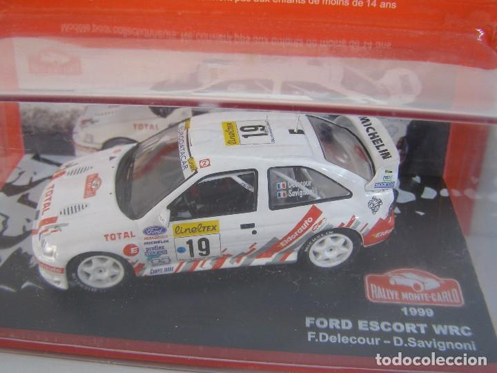 FORD ESCORT WRC DE 1999, COLECCION RALLY DE MONTECARLO, ALTAYA 1/43. (Juguetes - Coches a Escala 1:43 Otras Marcas)