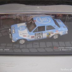 Coches a escala: FORD ESCORT RS 1600, RALLY RC DEL 73, MAKINEN, COLECCION RALLY DE ITALIA, EAGLE MOSS ALTAYA 1/43.. Lote 71279995