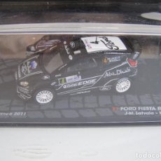 Coches a escala: FORD FIESTA RS WRC, RALLY DE FRANCIA 2011, COLECCION RALLY DE ITALIA, EAGLE MOSS ALTAYA 1/43.. Lote 71330007