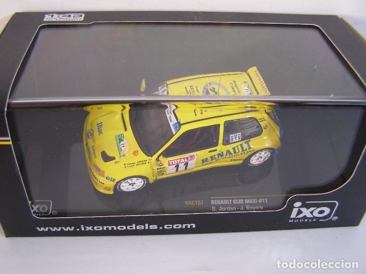 CLIO MAXI N 11 RALLY DU ROUERGUE 1995 IXO RAC 157 ESCALA 1/43 (Juguetes - Coches a Escala 1:43 Otras Marcas)