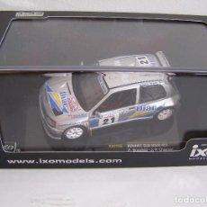 Coches a escala: CLIO MAXI N21 RALLY TOUR DE COURSE DE 1995, IXO RAC 156 ESCALA 1/43 PILOTO P. BUGALSKY. Lote 135865603