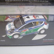 Coches a escala: 1/43, FORD FIESTA GT3 RS DEL RALLY MEXICO DEL 2010,COLECCION PASION DEL RALLY ALTAYA.. Lote 71458535