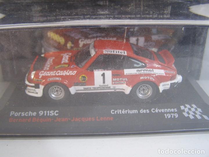1/43, PORSCHE 911 SC DE 1979, COLECCION CAMPEONES FRANCESES DE RALLY ALTAYA. (Juguetes - Coches a Escala 1:43 Otras Marcas)