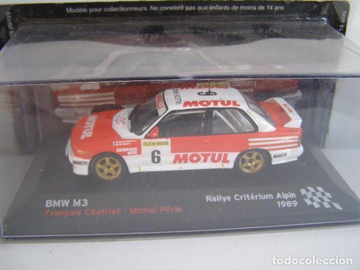 1/43,BMW M3 E30 DE 1989, COLECCION CAMPEONES FRANCESES DE RALLY ALTAYA. (Juguetes - Coches a Escala 1:43 Otras Marcas)