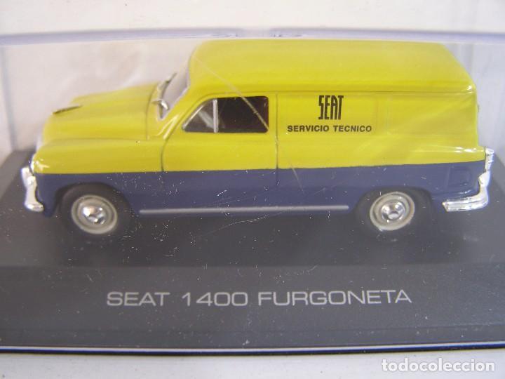 1/43,SEAT 1400 FURGONETA ASISTENCIA SEAT, SOLO ABONADOS ALTAYA. (Juguetes - Coches a Escala 1:43 Otras Marcas)