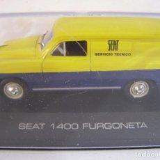 Coches a escala: 1/43,SEAT 1400 FURGONETA ASISTENCIA SEAT, SOLO ABONADOS ALTAYA.. Lote 110211684