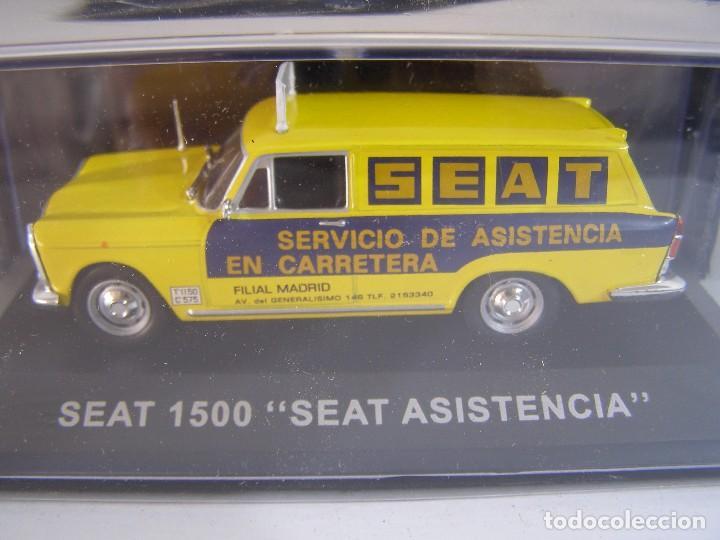 1/43,SEAT 1500 FURGONETA ASISTENCIA SEAT, COLECCION FURGONETAS ALTAYA. (Juguetes - Coches a Escala 1:43 Otras Marcas)