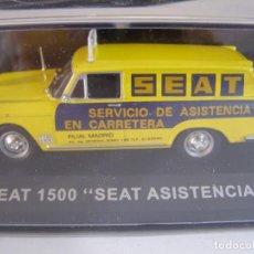 Coches a escala: 1/43,SEAT 1500 FURGONETA ASISTENCIA SEAT, COLECCION FURGONETAS ALTAYA.. Lote 183799781
