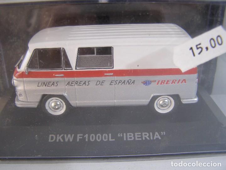 1/43 DKW F1000L IBERIA,COLECCION FURGONETAS ALTAYA. (Juguetes - Coches a Escala 1:43 Otras Marcas)