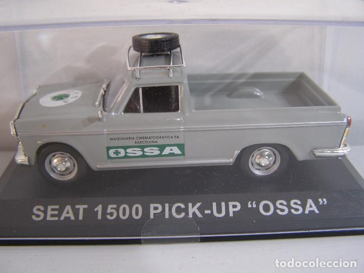 Coches a escala: 1/43 SEAT 1500 PICK UP OSSA ,COLECCION FURGONETAS ALTAYA. - Foto 1 - 186349295