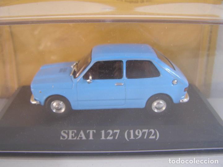 1/43 SEAT 127 AZUL DE 1972, TEST SEAT ALTAYA. (Juguetes - Coches a Escala 1:43 Otras Marcas)