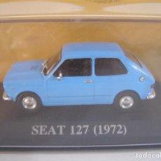 Coches a escala: 1/43 SEAT 127 AZUL DE 1972, TEST SEAT ALTAYA.. Lote 180194573