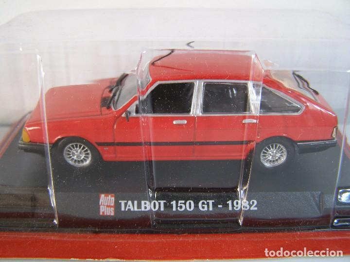 1/43 TALBOT 150 DE 1982 , COLECCION FRANCESA AUTOPLUS, HACHETTE ALTAYA. (Juguetes - Coches a Escala 1:43 Otras Marcas)
