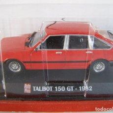 Coches a escala: 1/43 TALBOT 150 DE 1982 , COLECCION FRANCESA AUTOPLUS, HACHETTE ALTAYA.. Lote 187091657