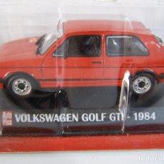 Coches a escala: 1/43 W. GOLF GTI SERIE 2 ROJO DE 1984 , COLECCION FRANCESA AUTOPLUS, HACHETTE ALTAYA.. Lote 114473200