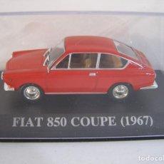 Coches a escala: 1/43 FIAT 850 COUPE DE 1967, COLECCION CLASICOS DE LOS 60 ALTAYA.. Lote 114786998