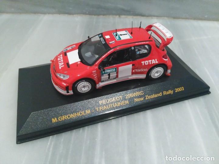 PEUGEOT 206 WRC M.GRONHOLM - T.RAUTIAINEN - NEW ZEALAND RALLY 2003 - RALLY CAR - 1/43 (Juguetes - Coches a Escala 1:43 Otras Marcas)