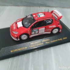 Coches a escala: PEUGEOT 206 WRC M.GRONHOLM - T.RAUTIAINEN - NEW ZEALAND RALLY 2003 - RALLY CAR - 1/43. Lote 71722671
