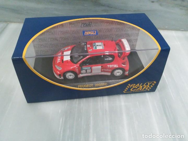 Coches a escala: PEUGEOT 206 WRC M.GRONHOLM - T.RAUTIAINEN - NEW ZEALAND RALLY 2003 - RALLY CAR - 1/43 - Foto 4 - 71722671